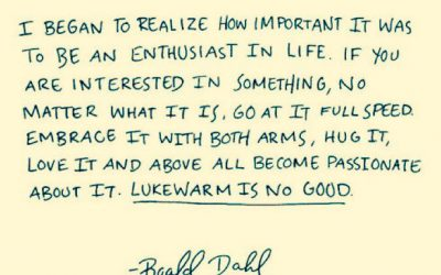 In the words of Roald Dahl…