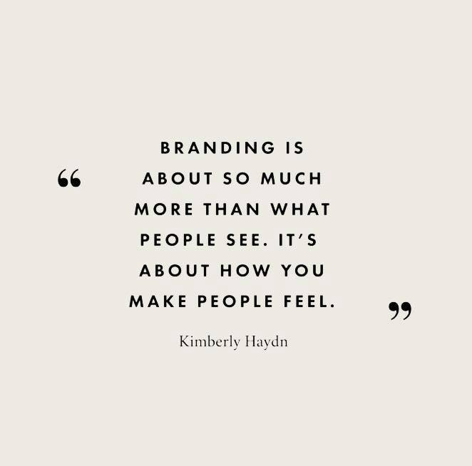 Brand Development – my favourite!